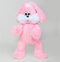 Заяц игрушка мягкая розовый, синий, белый, серый 65 см