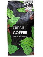 Кава в зернах Бразилія Fresh Coffee зі смаком шоколаду, горіха, сухофруктів.