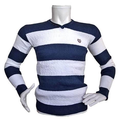 Мужской двухцветный свитер Sport Line - №2172, фото 2