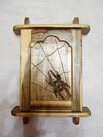 Ключница настенная деревянная ручной работы, фото 1