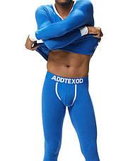 Мужская пижама термобелье гольф подштанники Addtexod Синий, фото 3