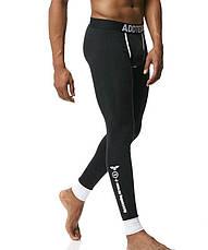 Чоловіча піжама термобілизна гольф підштаники Addtexod Чорний, фото 3