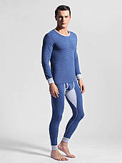 Чоловіча піжама термобілизна гольф підштаники Ciokicx Синій, фото 2