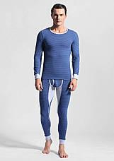 Чоловіча піжама термобілизна гольф підштаники Ciokicx Синій, фото 3