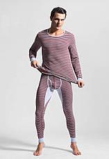 Чоловіча піжама термобілизна гольф підштаники Ciokicx Коричневий, фото 3