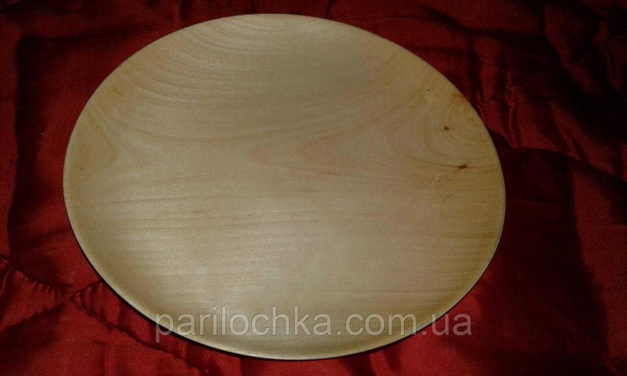 Тарелки из дерева для стейков