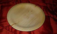 Деревянная посуда купить тарелку из осину, фото 1