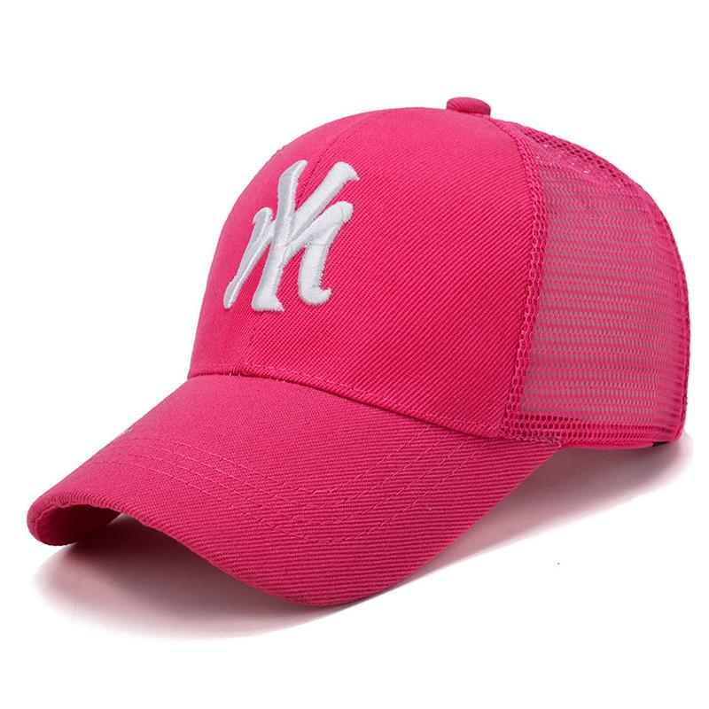 Розовая кепка Narason - №6361