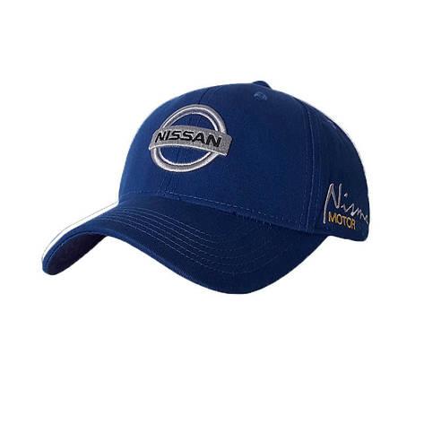 Бейсболка з логотипом авто Ніссан Sport Line Синій, фото 2