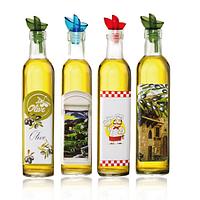 Бутылка стеклянная для масла Французские истории 0,5л. с дозатором