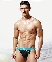 Сексуальні чоловічі плавки танга, пуш-ап Desmit - №5914
