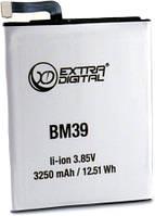 Аккумулятор  для Xiaomi Mi 6 (BM39) 3250 mAh
