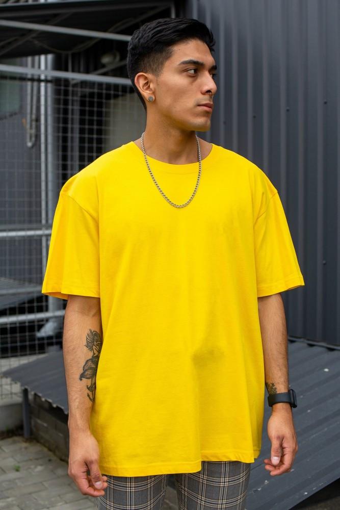 Оверсайз Футболка Without Great Yellow