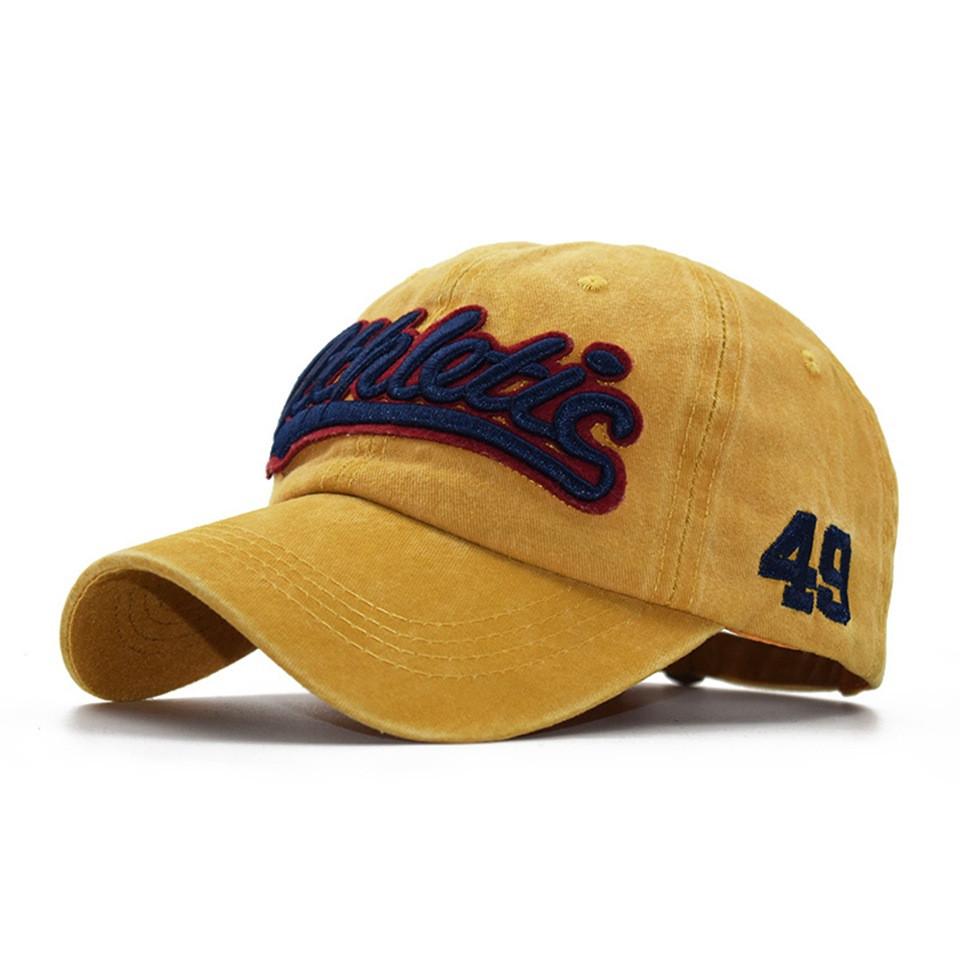 Желтая кепка Narason - №7129