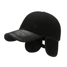Теплая кепка Narason черная 56-58 р, фото 2
