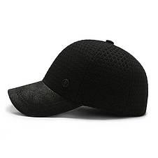 Теплая кепка Narason черная 56-58 р, фото 3