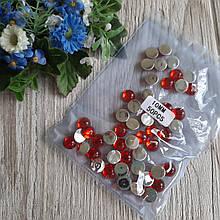 """""""Крапелька роси"""" клейовий декор, 10 мм, колір червоний, ціна 13 грн - 50 шт"""