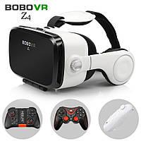 3D Очки с наушниками, пультом для смартфона Bobo VR Z4 Виртуальные очки с джойстиком NEW