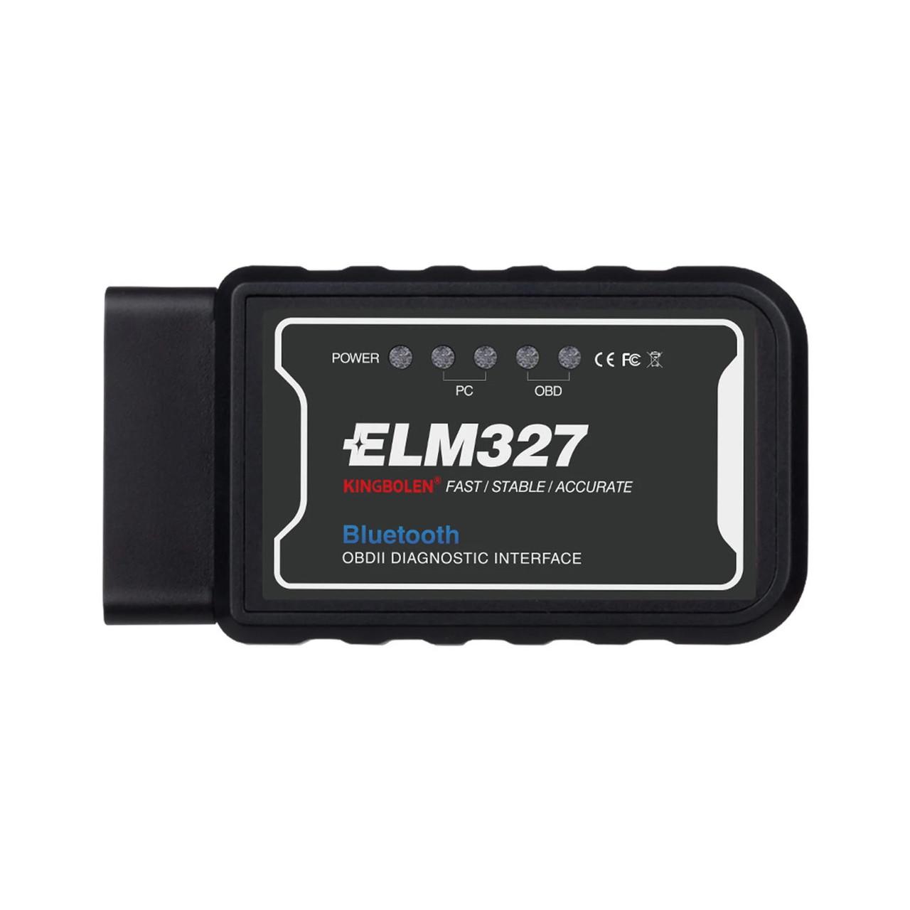 Автосканер OBD2 ELM 327 v1.5 KINGBOLEN Bluetooth (PIC18F25K80)