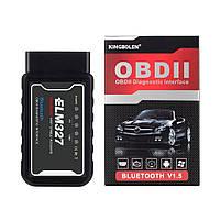 Автосканер OBD2 ELM 327 v1.5 KINGBOLEN Bluetooth (PIC18F25K80), фото 2