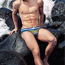 Брендові чоловічі плавки Sport Line - №SP4332, фото 2