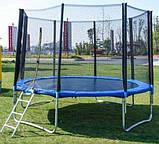 Батут каркасный для взрослых и детей для дома с защитной сеткой TK-Sport B-53906 диаметр 366 см, фото 2