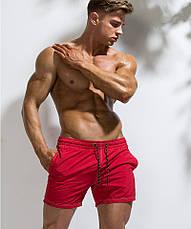 Червоні чоловічі бермуди Deenyt - №SP6210, фото 3