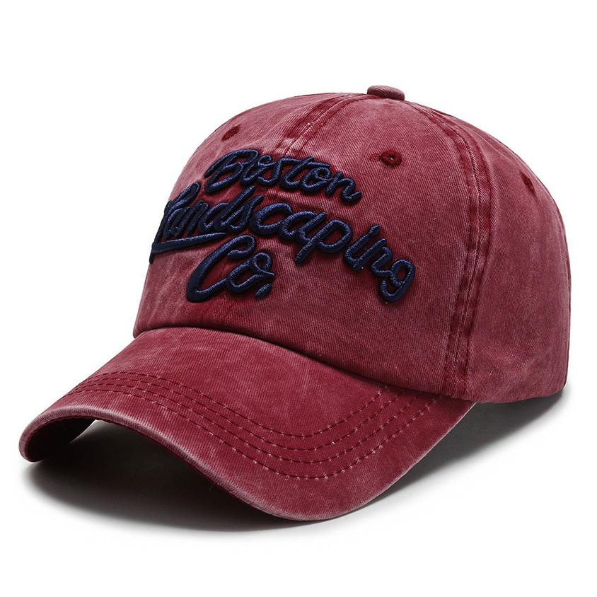 Червона бейсболка Narason - №SP6376