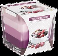 Свеча ароматизированная в стеклянном стакане, Bispol / Frozen Berries , 32 часов горения