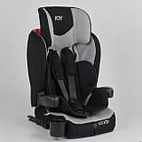 Детское автокресло от 9 месяцев до 12 лет, группа 1-2-3 (9-36 кг) JOY 38148 с системой Isofix серое, фото 5