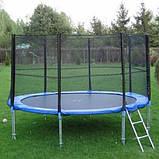 Батут каркасный для взрослых и детей для дома с защитной сеткой TK-Sport B-10244 диаметр 244 см, фото 2