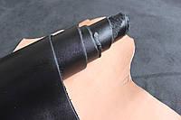 Натуральная кожа для обуви и кожгалантереи черная арт. СК 1039