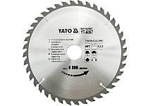 Пильный диск по дереву профессиональный Yato 210х30х2,2 мм YT-6067
