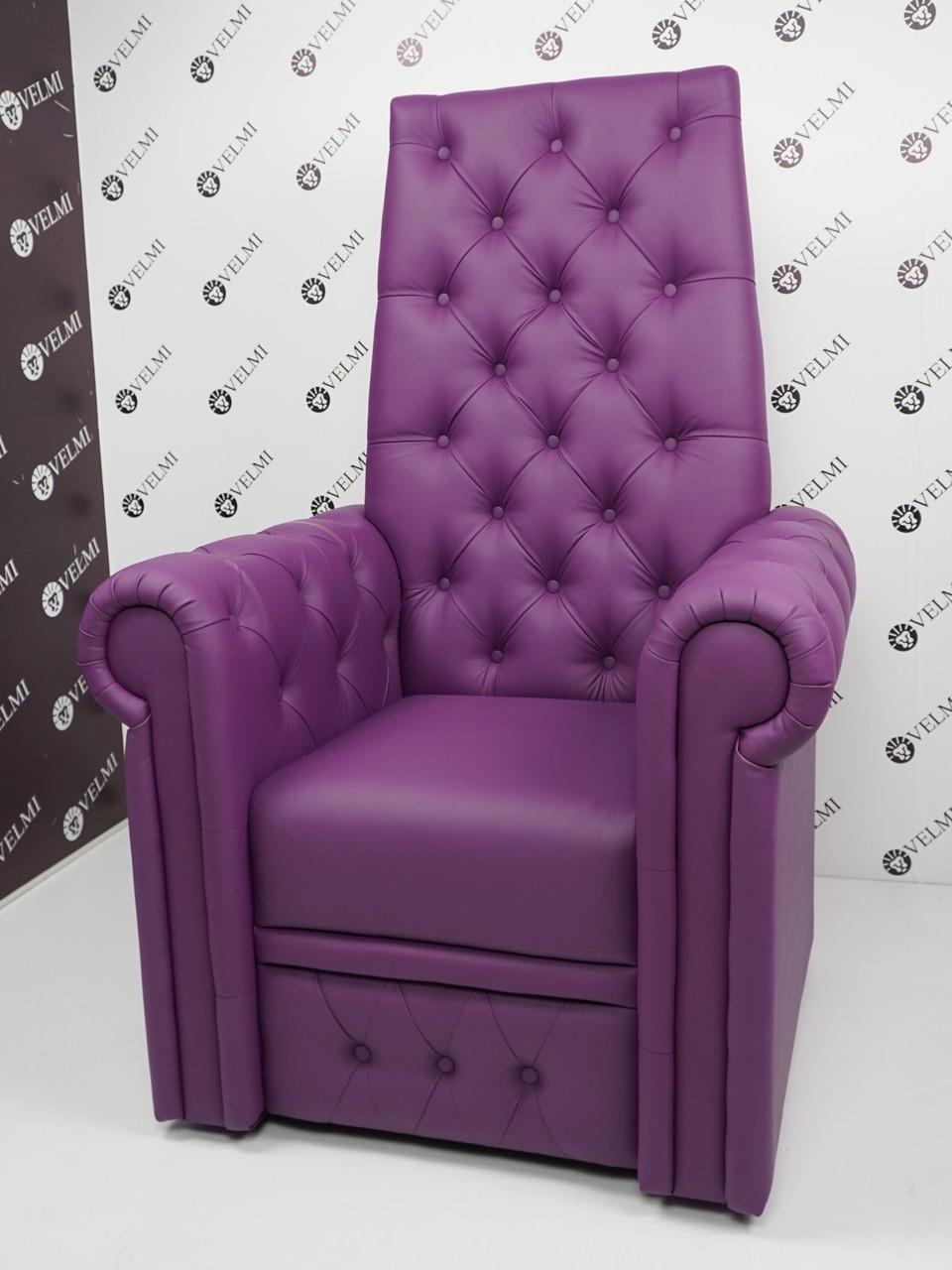 Педикюрне крісло трон Queen