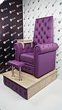 Педикюрне крісло трон Queen, фото 3