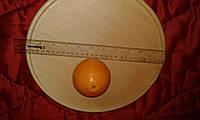 Тарель-подставка деревянная для фруктов, тортов,пиццы., фото 1