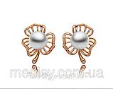 Комплект бижутерии Жемчужный цветок, фото 2