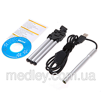 Цифровой микроскоп- эндоскоп USB 2,0 10Х-200Х  со светодиодной подсветкой