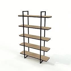 Офісний стелаж стиль Loft з натурального дерева