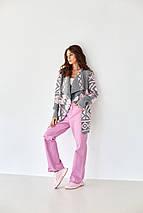 Вязаное женское пальто - Аризона, фото 3