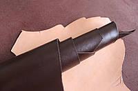 Кожа натуральная для производства обуви из шкур КРС светло-коричневая арт. СК 1145