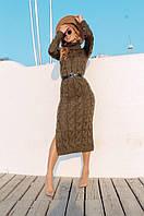 """Сукня жіноча в'язка розміри 42-46(3ол) """"MARGARET"""" купити недорого від прямого постачальника"""