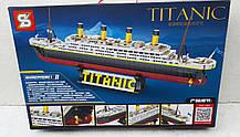 Конструктор Титанік 1333 деталі, фото 2