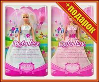 Кукла типа Барби невеста Defa Lucy 6091, 2 вида,Кукла с длинными волосами,Семья барби,Игрушечные