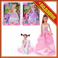 Кукла типа Барби с лошадкой DEFA 8077, 3 вида,Кукла с длинными волосами,Семья барби,Игрушечные