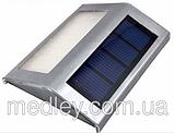 Уличный настенный Светильник на солнечных батареях с датчиком освещенности, фото 5