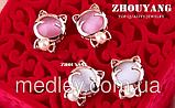 Комплект бижутерии Розовый котенок, фото 4