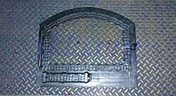 Оригинальная каминная дверца с огнестойким стеклом