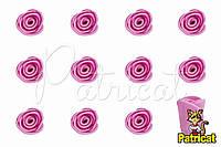 Бутоны Роз Розовые из фоамирана (латекса) 1 см 10 шт/уп
