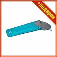 Спальный мешок одноместный BW 68102 на молнии (Голубой),Спальни мешок,Спальный мешок для рыбалки,Спальный